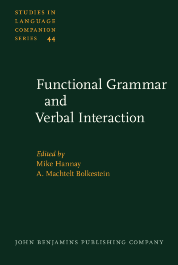 image of Functional Grammar and Verbal Interaction