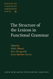 image of The Structure of the Lexicon in Functional Grammar