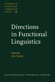 image of Directions in Functional Linguistics