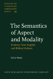 image of The Semantics of Aspect and Modality
