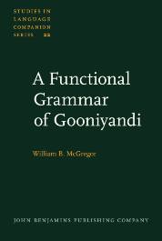 image of A Functional Grammar of Gooniyandi