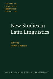 image of New Studies in Latin Linguistics