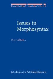 image of Issues in Morphosyntax