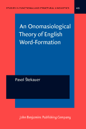 image of An Onomasiological Theory of English Word-Formation