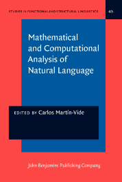 image of Mathematical and Computational Analysis of Natural Language