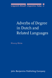 image of Adverbs of Degree in Dutch and Related Languages