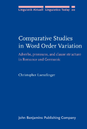 image of Comparative Studies in Word Order Variation