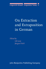image of On Extraction and Extraposition in German