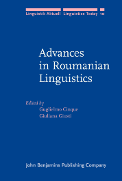 image of Advances in Roumanian Linguistics