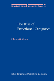 image of The Rise of Functional Categories