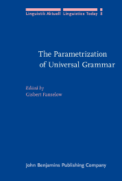 image of The Parametrization of Universal Grammar