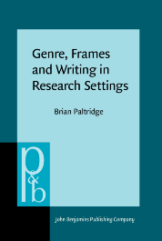 image of Genre, Frames and Writing in Research Settings