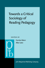 image of Towards a Critical Sociology of Reading Pedagogy