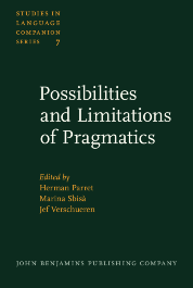 image of Possibilities and Limitations of Pragmatics