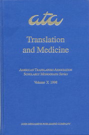 image of Translation and Medicine