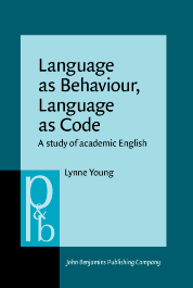 image of Language as Behaviour, Language as Code