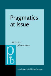 image of Pragmatics at Issue