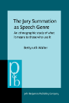 image of The Jury Summation as Speech Genre