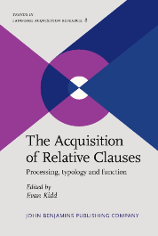image of The Acquisition of Relative Clauses