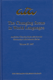 image of The Changing Scene in World Languages