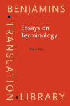 image of Essays on Terminology