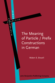 image of The Meaning of Particle / Prefix Constructions in German