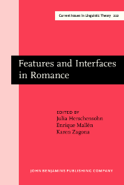 image of Features and Interfaces in Romance