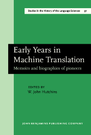 image of Early Years in Machine Translation