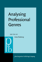 image of Analysing Professional Genres