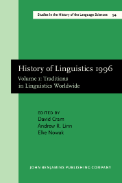 image of History of Linguistics 1996
