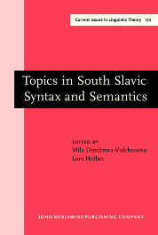 image of Topics in South Slavic Syntax and Semantics