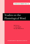 image of Studies on the Phonological Word