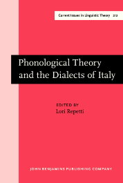 image of Phonological Theory and the Dialects of Italy