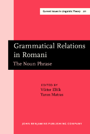 image of Grammatical Relations in Romani