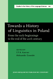 image of Towards a History of Linguistics in Poland