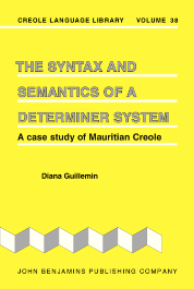 image of The Syntax and Semantics of a Determiner System