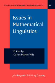 image of Issues in Mathematical Linguistics