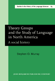 image of Theory Groups and the Study of Language in North America