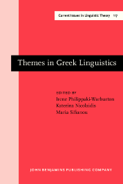 image of Themes in Greek Linguistics