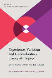 image of Experience, Variation and Generalization