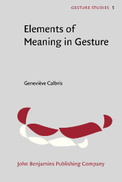 image of Elements of Meaning in Gesture
