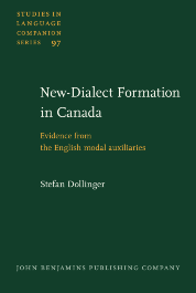 image of New-Dialect Formation in Canada