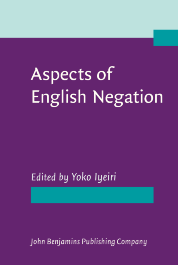 image of Aspects of English Negation