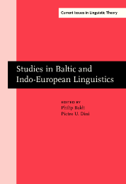 image of Studies in Baltic and Indo-European Linguistics