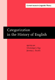image of Categorization in the History of English