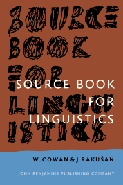 image of Source Book for Linguistics
