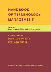 image of Handbook of Terminology Management