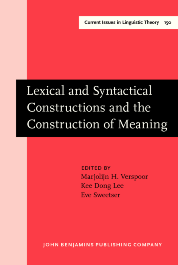 image of Lexical and Syntactical Constructions and the Construction of Meaning