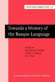 image of Towards a History of the Basque Language