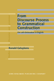 image of From Discourse Process to Grammatical Construction